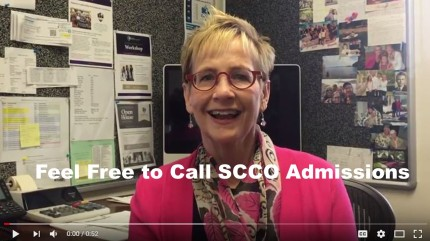 Feel Free to Call SCCO Admissions
