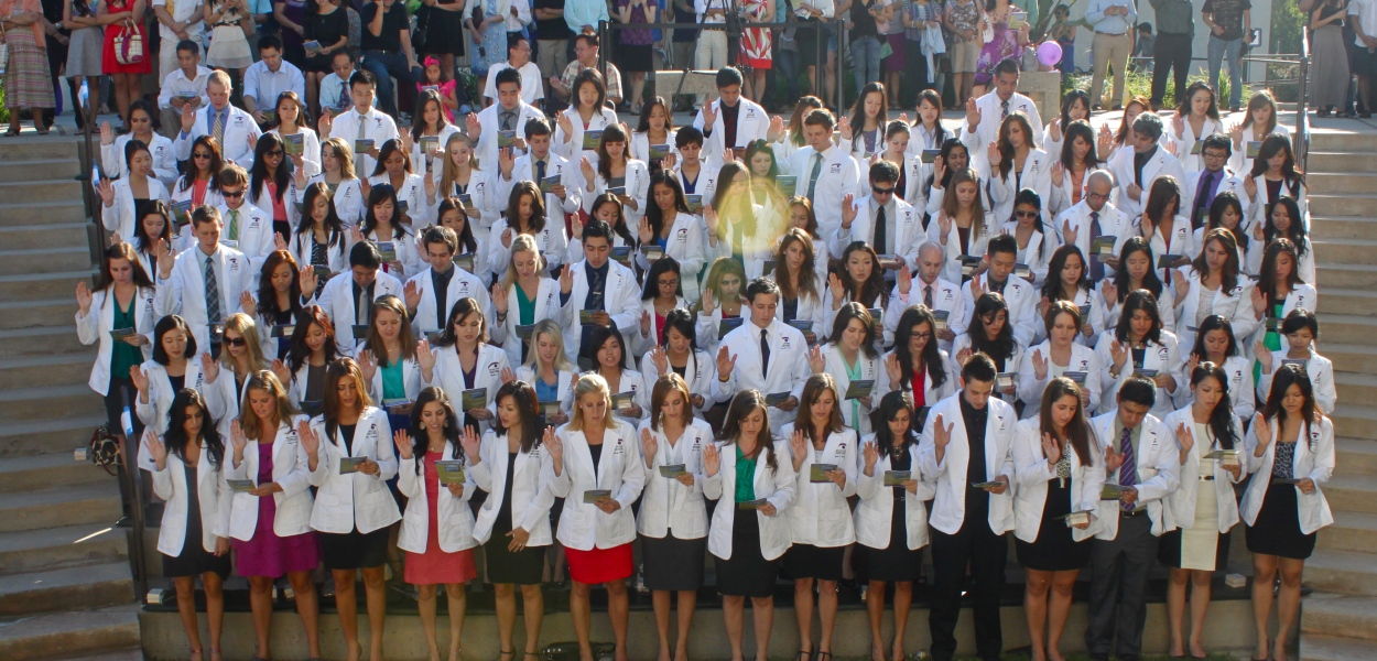 Class of 2016 White Coat Ceremony (Photo taken by Brian Park)