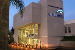 SCCO's Eye Care Center at night....
