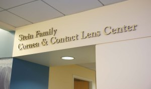 Stein Family Cornea and Contact Lens Center in SCCO's Eye Care Center