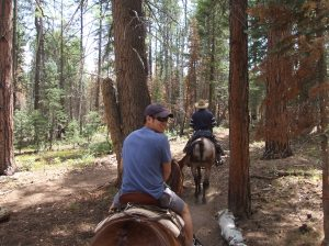 Horse-back trail riding--Dr. Ngo says he loves to travel!
