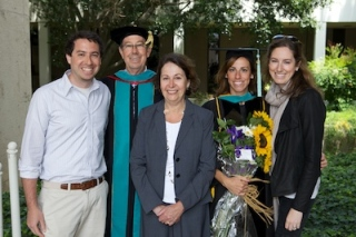 When a Doctor of Optometry degree is conferred,it's a victory for the whole family
