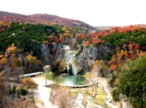 Turner Falls in the nearby Wichita Mountains of Oklahoma