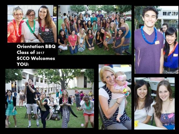 Click on this picture to see a alum of the Orientation BBQ on Flickr