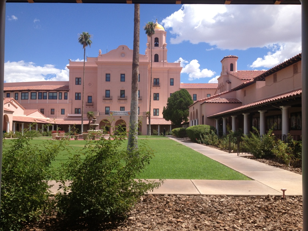 """The VA Hospital in Tucson, site of my 2nd rotation..."""