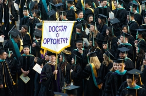 """The OD degree granted from traditional optometric education is a professional degree."""