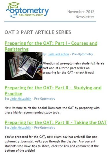 OAT LINK OptometryStudents
