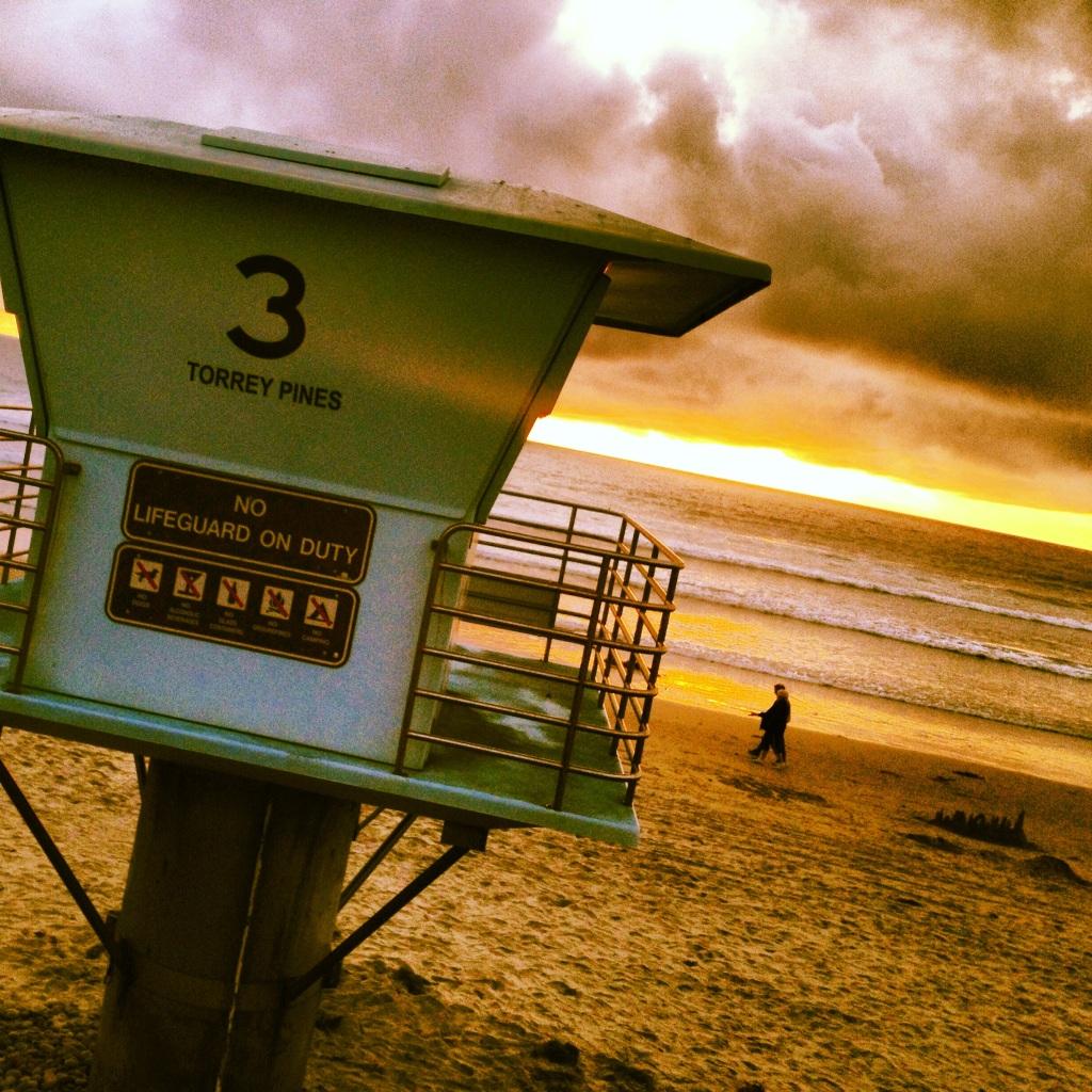"""Enjoying a San Diego Sunset at Optometry's Meeting 2013"""