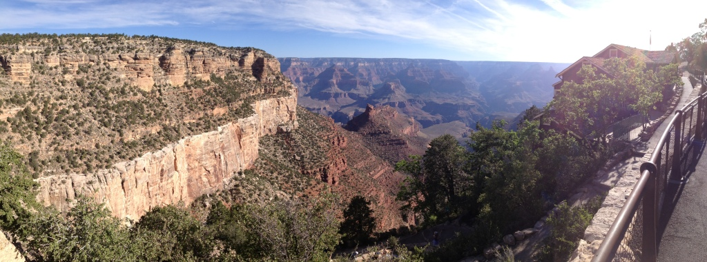 """View across the Grand Canyon visited while traveling through for rotations."""