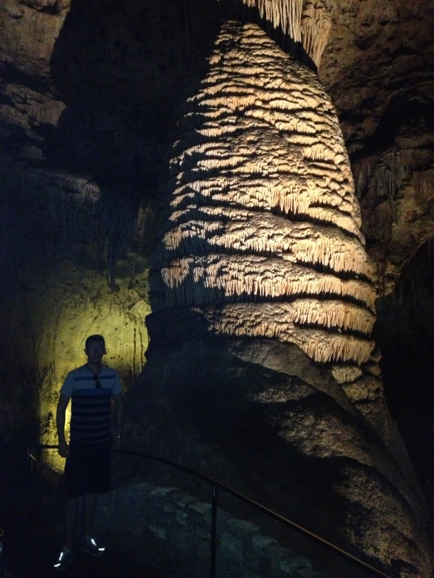 """Carlsbad Caverns also visited while traveling by on rotations."""