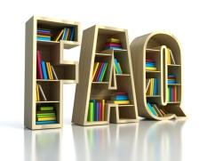FAQ with books - search answer concept