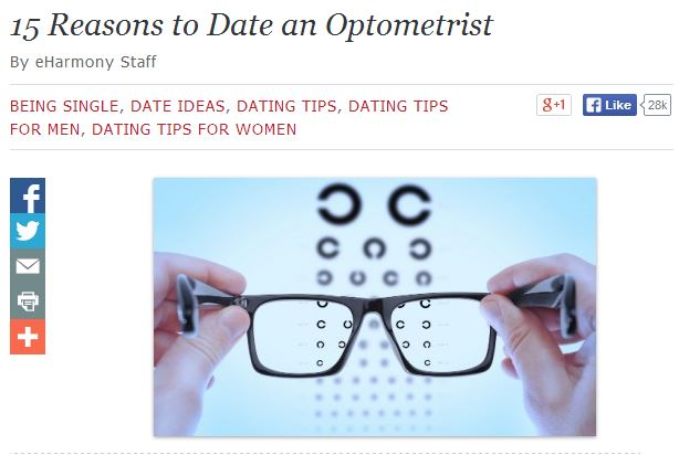 Date an Optometrist