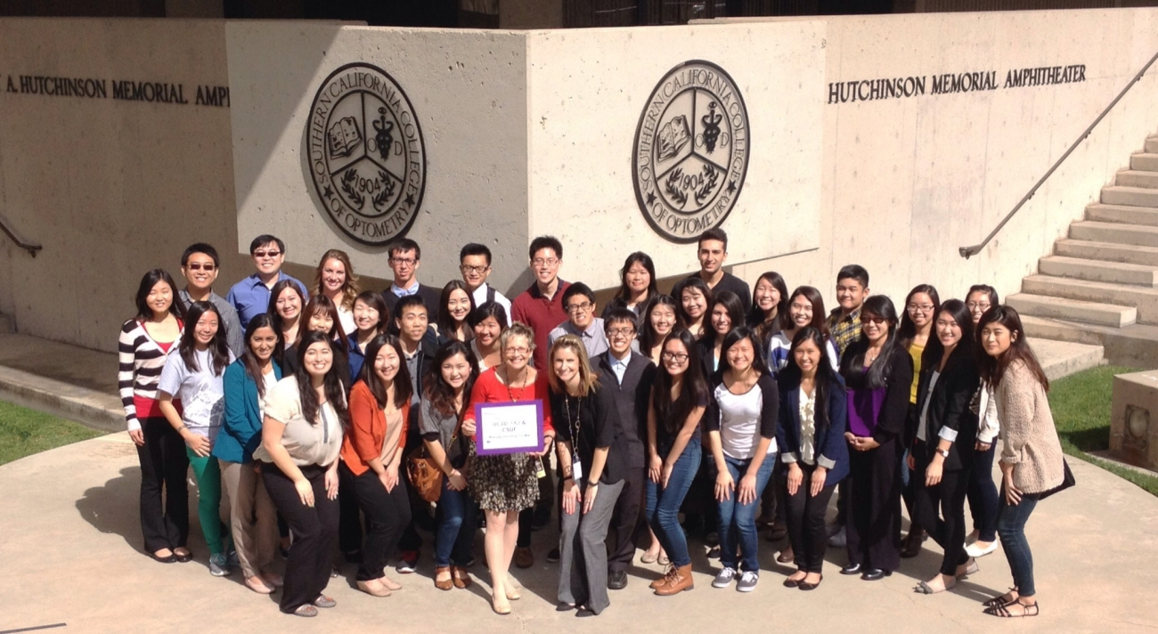 A joint visit with pre-optometry clubs at UCI, UCSD, and CSUF. What a great time we had!