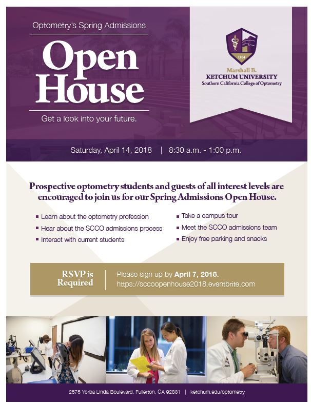 Spring Admissions Open House 2018
