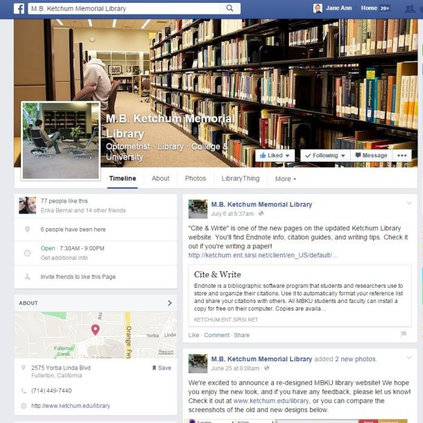 FB Page Library