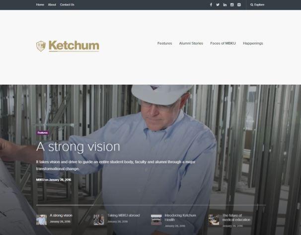 Ketchum Magazine 1