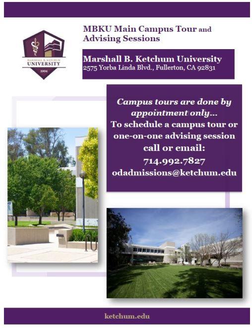 Photo of Campus Tour Flyer