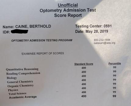 OAT Scores