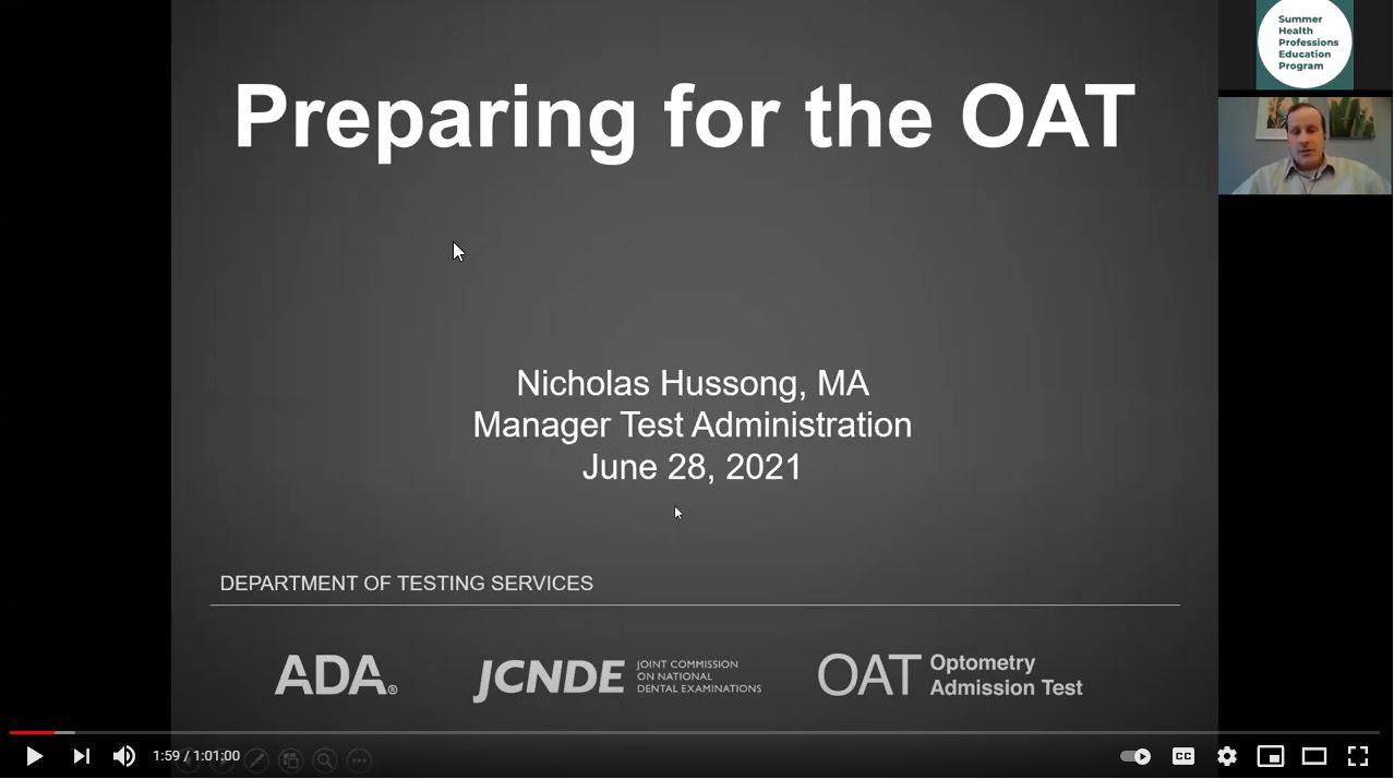 Preparing for the OAT_SHPEP